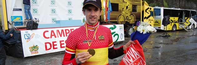 noVadiet patrocina al ciclocrosista Aitor Hernández