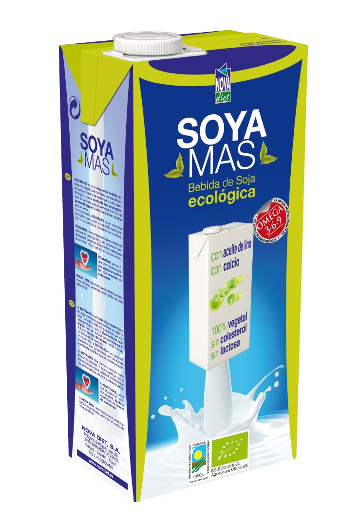 Envase de Soyamas