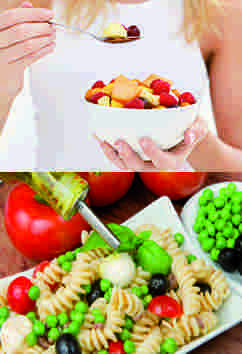 Adopte la dieta mediterránea