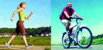 Aumente la actividad física