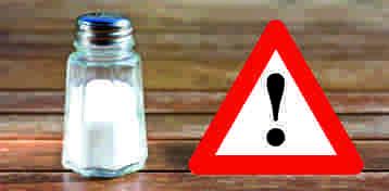 Disminuya el consumo de sal