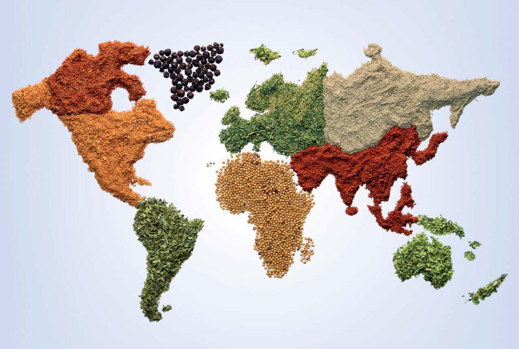 Mapa de alimentos