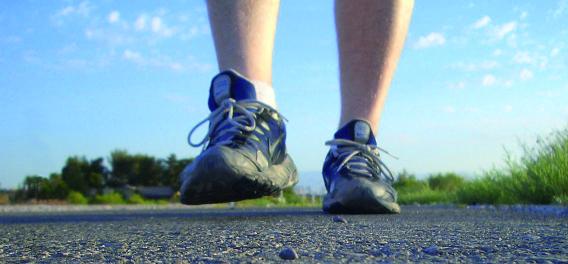 Caminar es llevar una vida sana