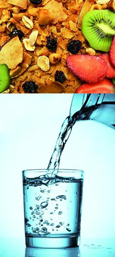 Fibra y agua
