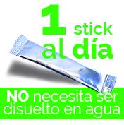 1 stick al día