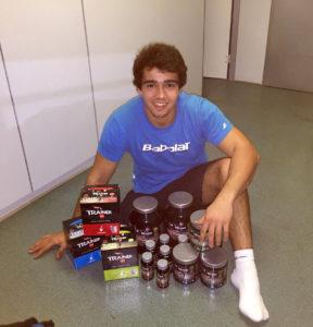 Daniel Caverzaschi continua su sueño de ir a los JJOO de RIO 2016